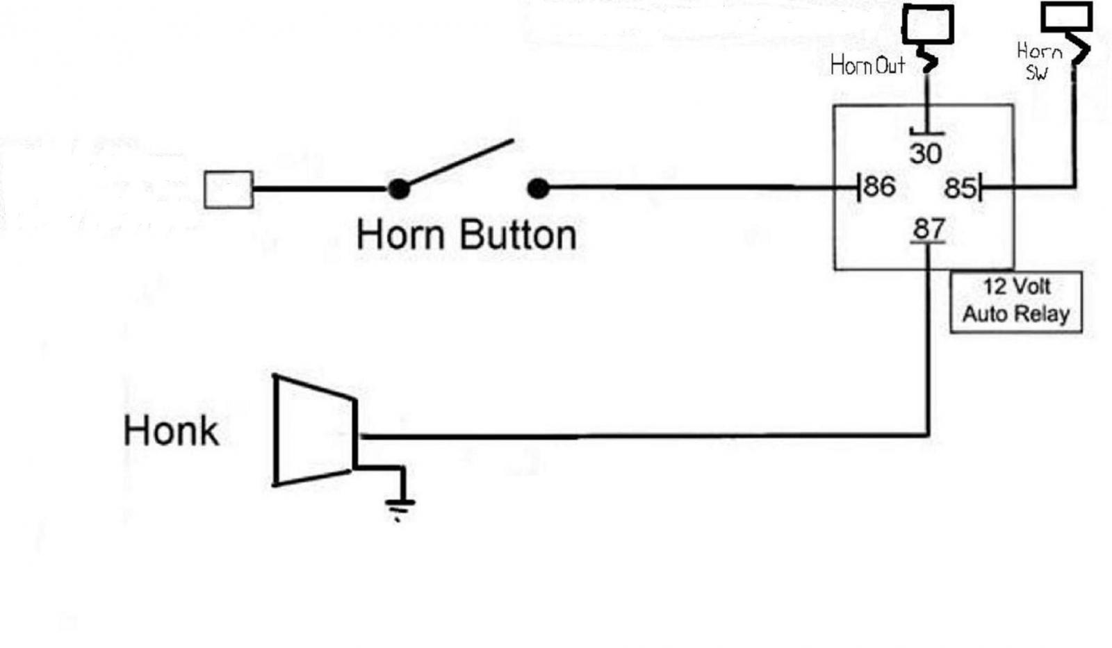 hight resolution of car horn schematic wiring diagram show gem car horn diagram