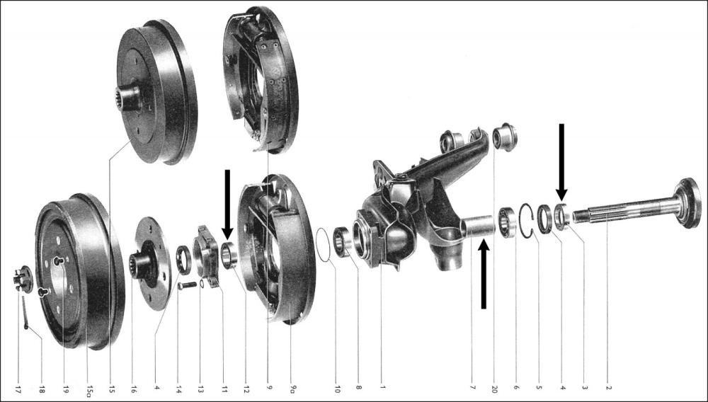 medium resolution of rear wheel bearing diagram
