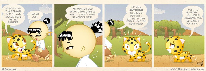 Lucky Cub - Samurai Boy