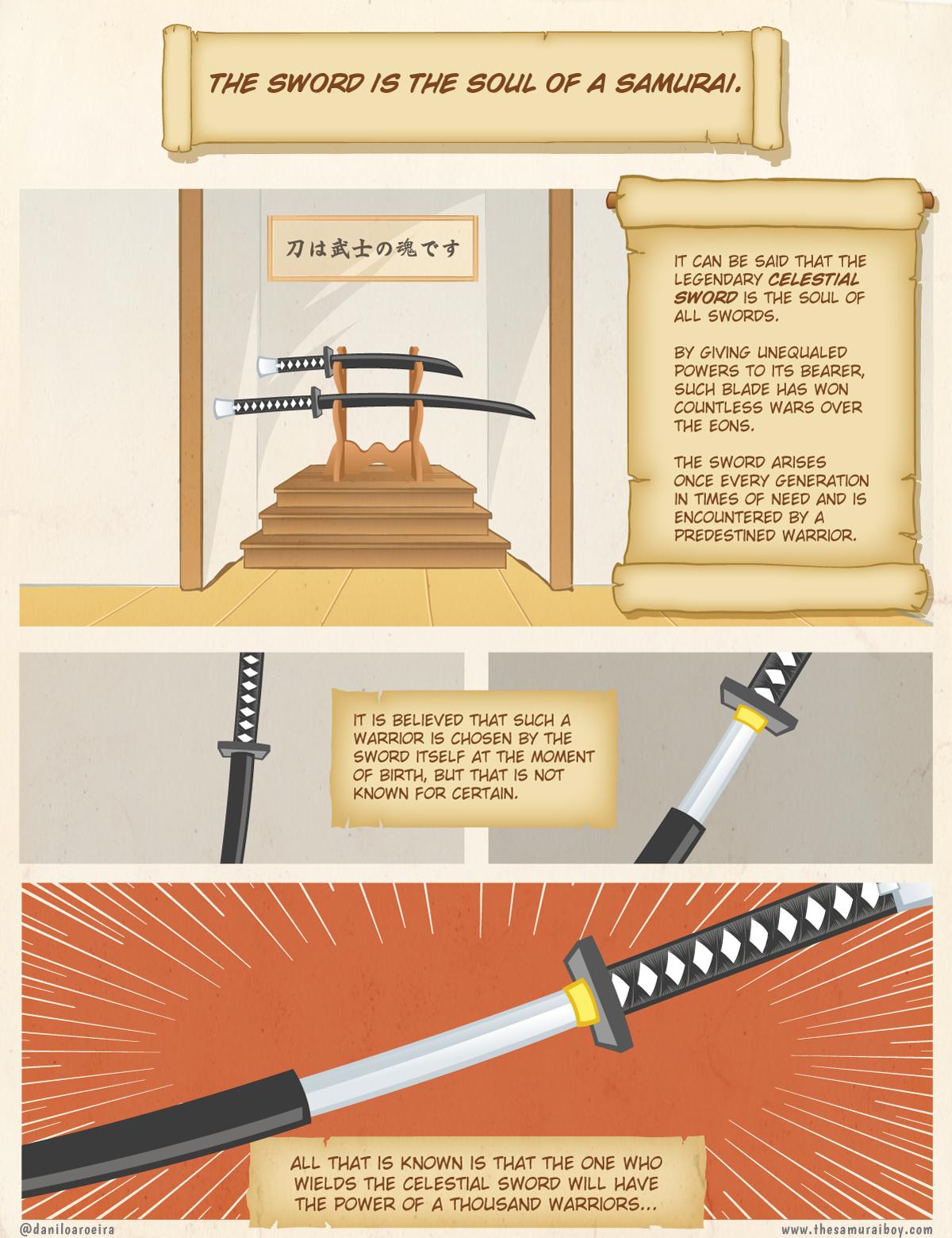 The soul of a samurai