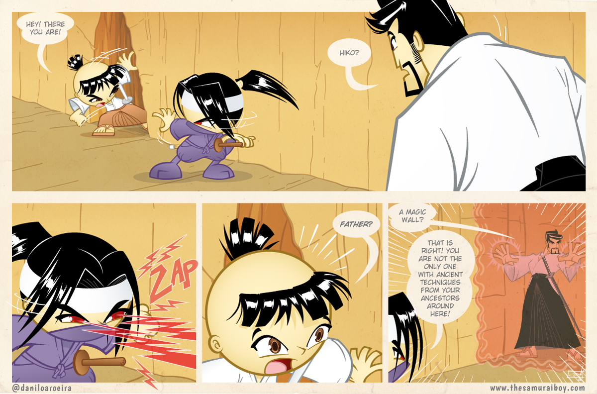 Samurai Boy S03E20 - Magic wall