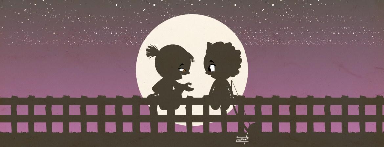 Samurai Boy and Zumbi: before the moon