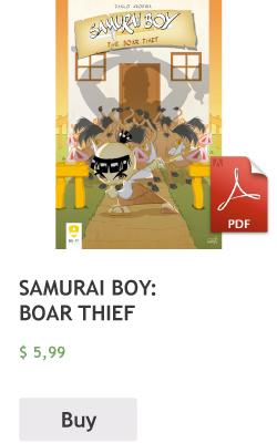 Buy Samurai Boy: Boar thief