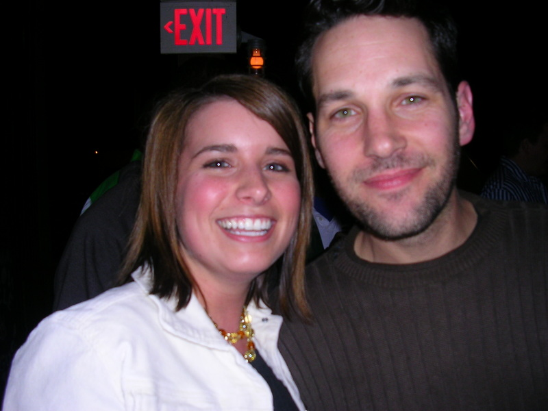 Sandbar customer Karissa and Paul Rudd
