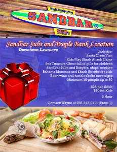 Sandbar Subs Holiday Option
