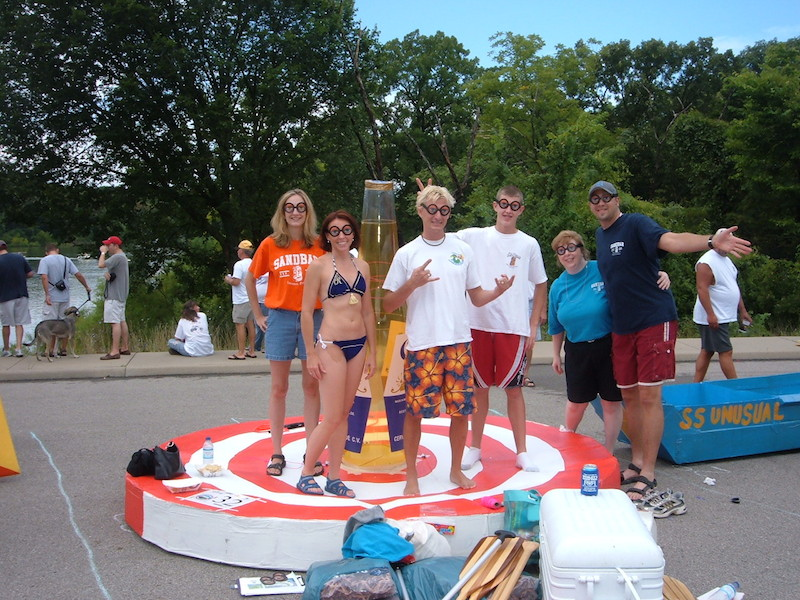 Throwback Thursday: Cardboard Boat Races