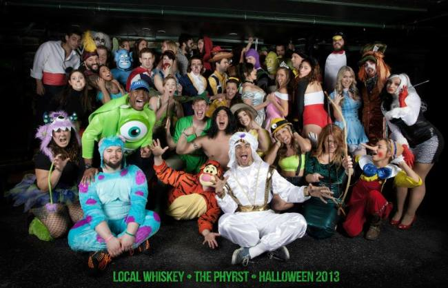 Phyrst Local Whiskey Halloween