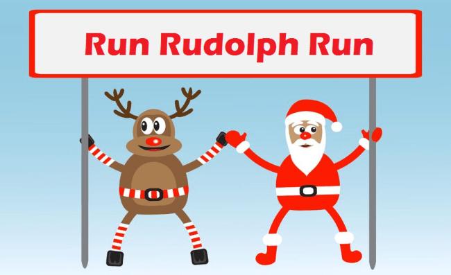 Run Rudolph Finish Line