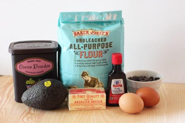 avocado-brownies-ingredients