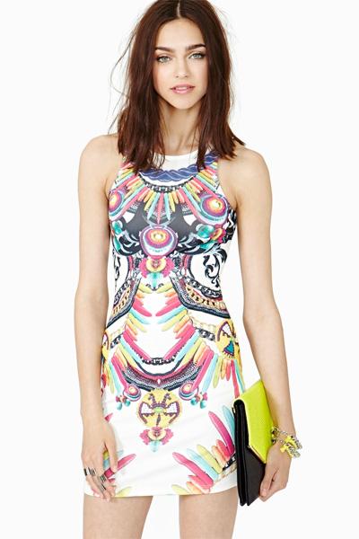 Nasty Gal Lavish Dress, $48