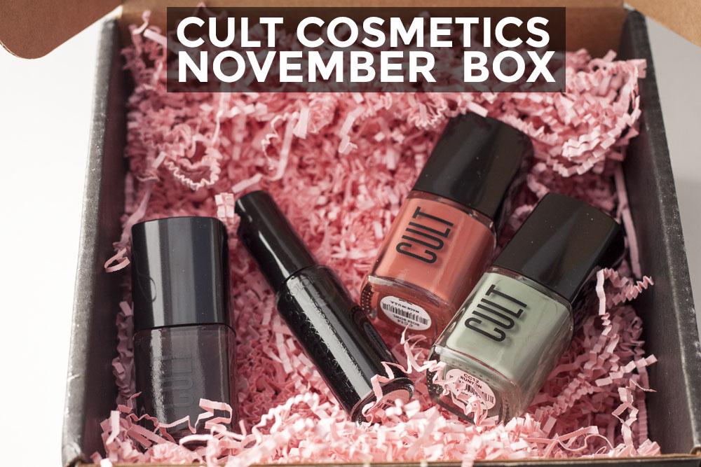 November Cult Cosmetics Box