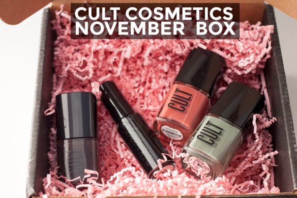 November Cult Cosmetics Box