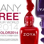3 Free Bottles of Zoya Nail Polish with $12 Shipping!