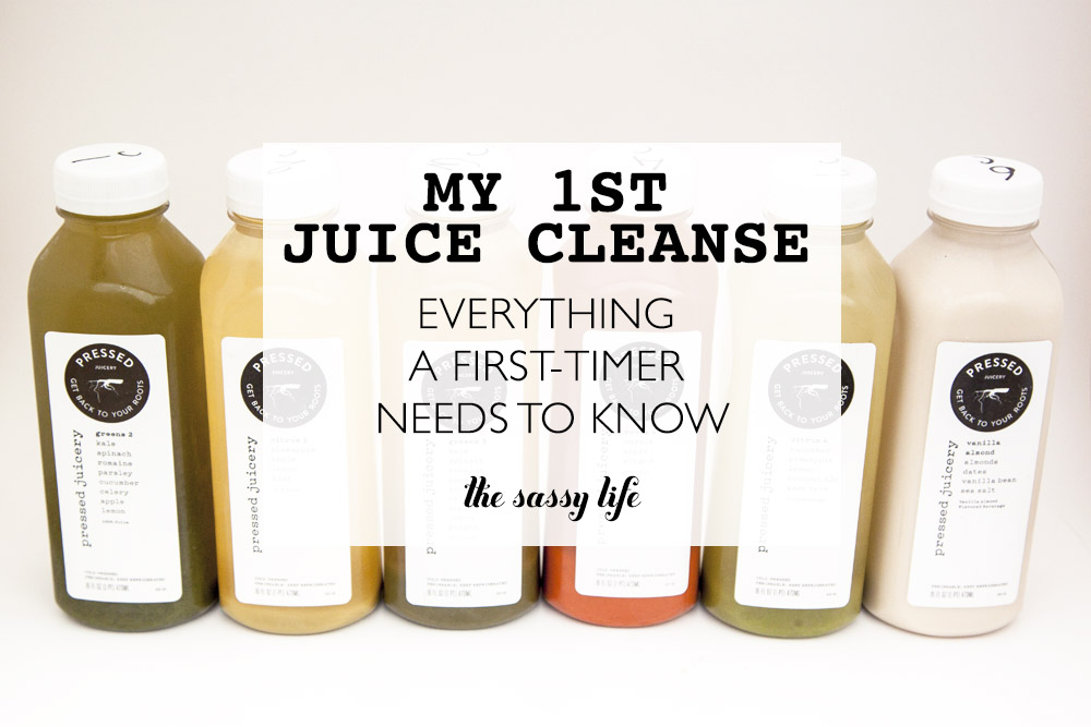 My 1st Juice Cleanse - Everything a first-timer needs to know