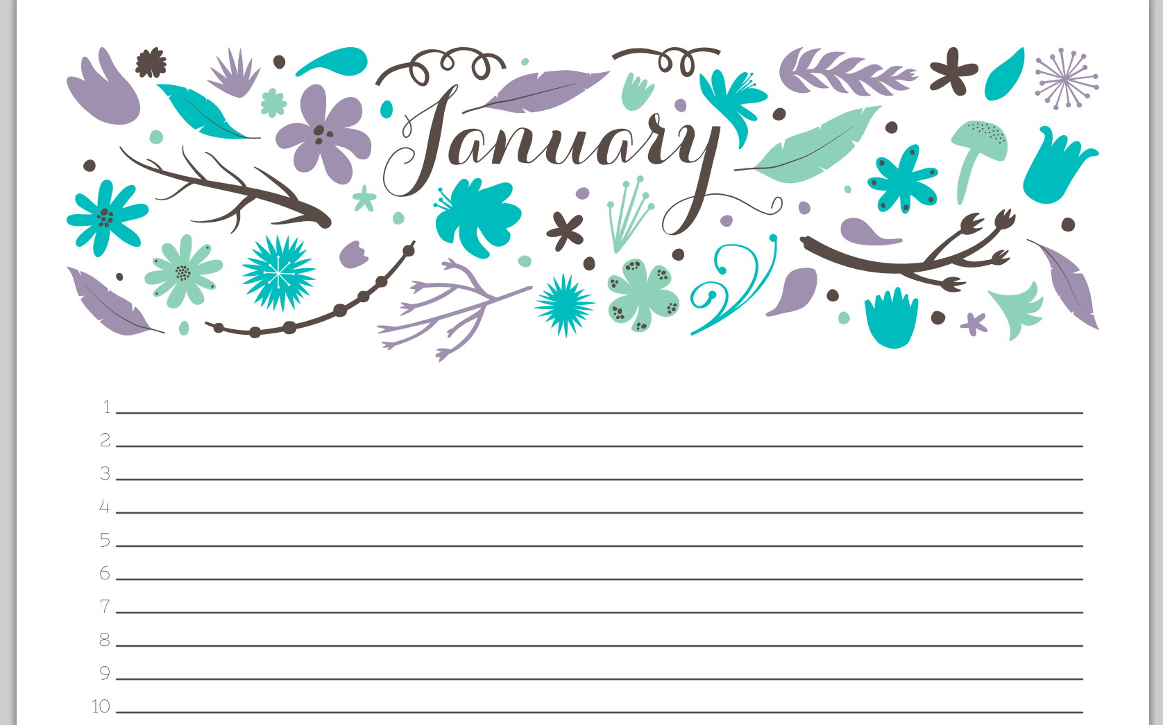 The Best *FREE* Printable 2014 Calendars - thesassylife
