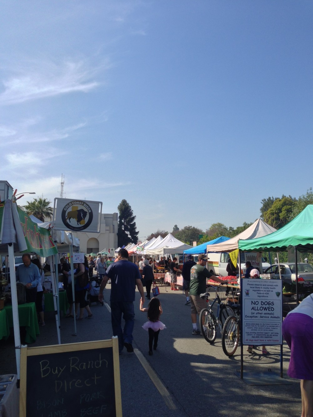 Farmer's Market in Beverly Hills