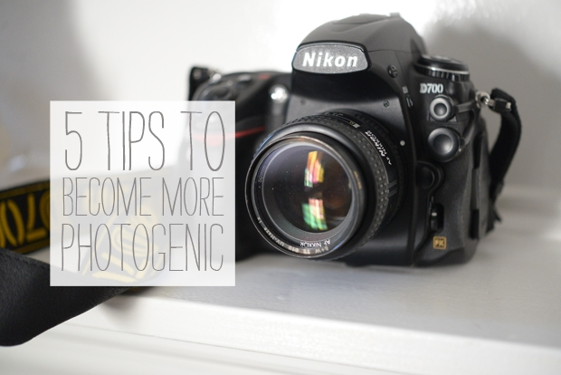 5 tips to becoming more photogenic