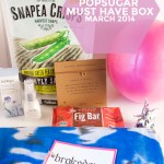 PopSugar Must Have Box March 2014