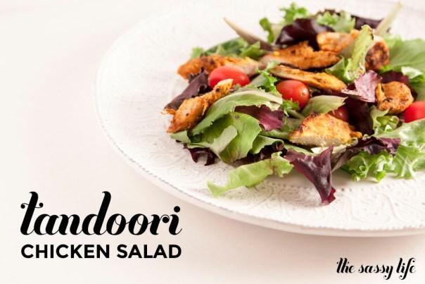 Tandoor Chicken Salad