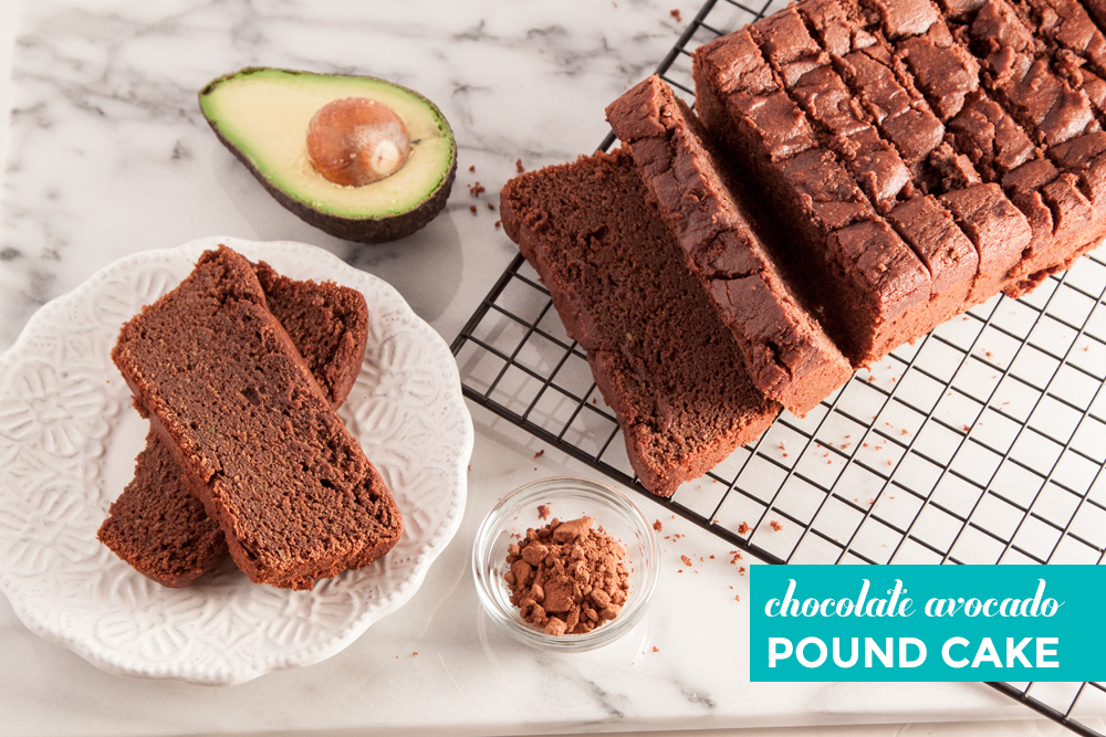 Chocolate Avocado Pound Cake – thesassylife