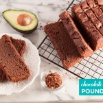 Chocolate Avocado Pound Cake