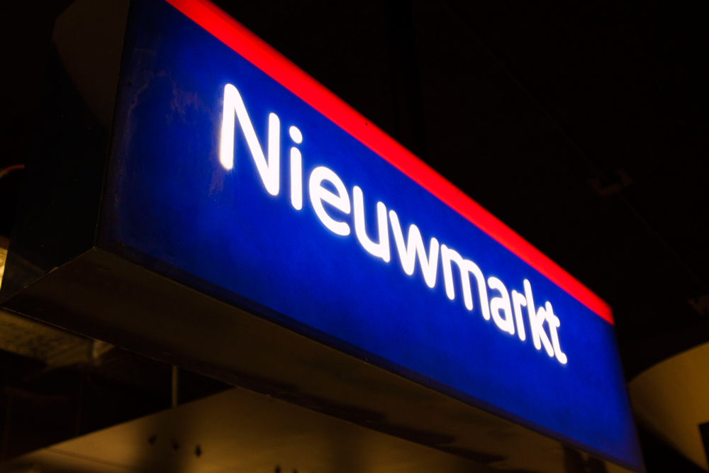 Niewmarkt Metro Station