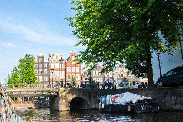 Amsterdam Canal Ride Houses