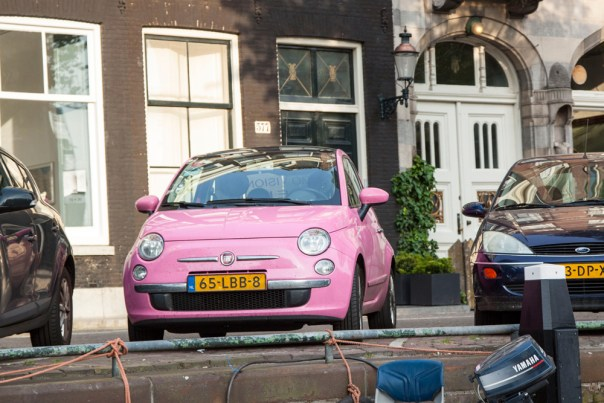 Pink Fiat