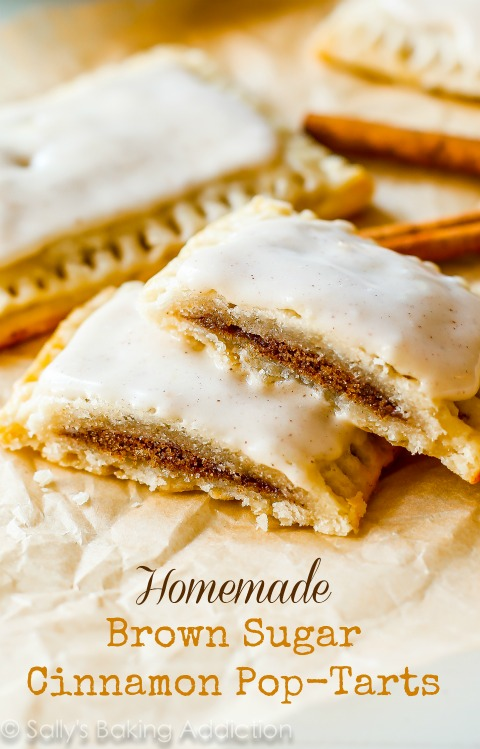 Homemade Brown Sugar Cinnamon Pop-Tarts