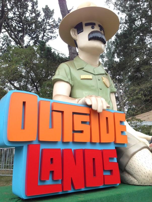 Ranger Dave at Outside Lands