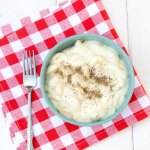 Creamy Garlic Mac & Cheese