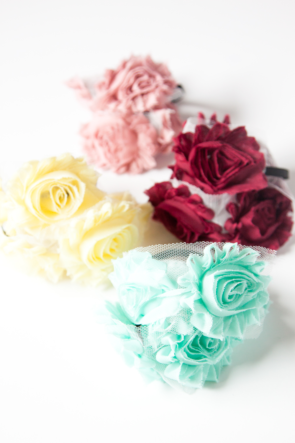 Rosette Headband DIY/Tutorial