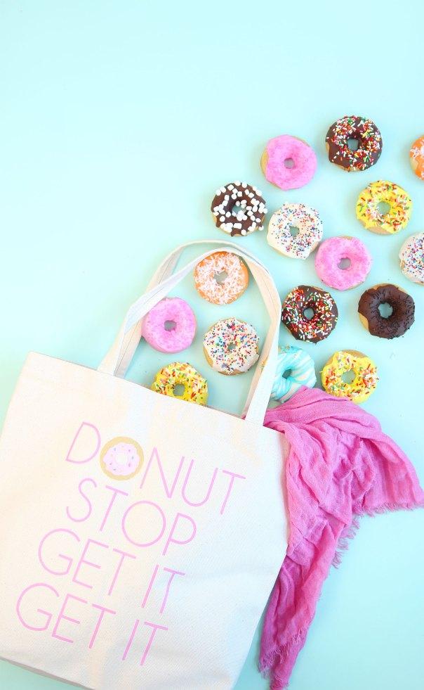 DIY Donut Tote