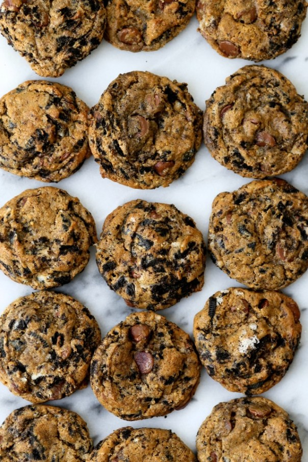Milk Chocolate Cookies and Cream Cookies