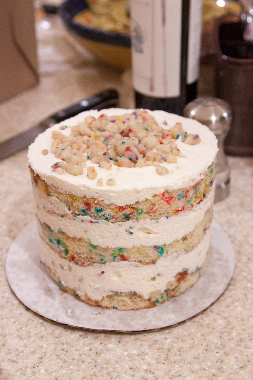 Finished Birthday Cake Momofuku Milk Bar Bake The Book Class