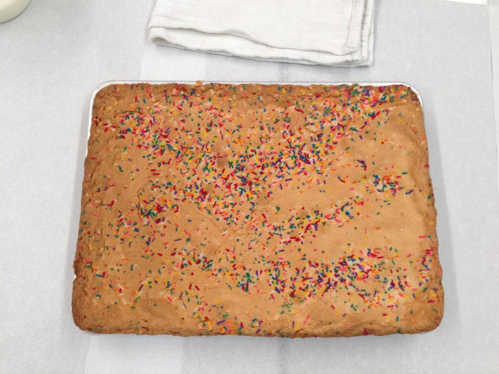 Momofuku Birthday Cake Sheet Cake