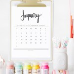 The Best *FREE* Printable 2016 Calendars