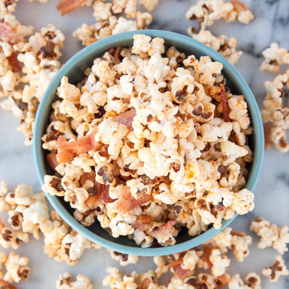Spicy Maple Bacon Popcorn Recipe