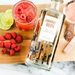 Raspberry Mules with Absolut Elyx