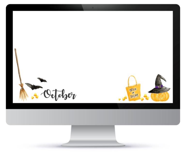 Freebie Halloween Desktop Wallpaper