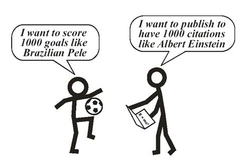 Analogies Between Football and Impact Factor (IF) in