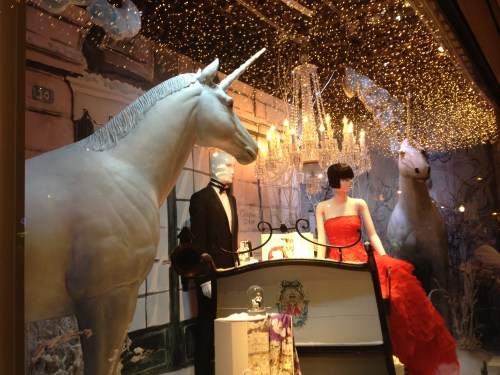 Dior Christmas Windows at Au Printemps