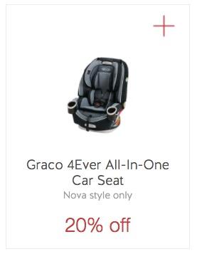 Target Cartwheel: 20% Off Graco 4Ever Car Seats • The