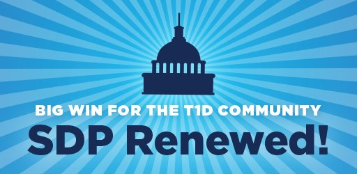 Breaking news: Congress just passed a two-year renewal of the Special Diabetes Program (SDP)!