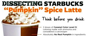 Savvy (NOT) Halloween:  Starbucks Pumpkin Spice Latte