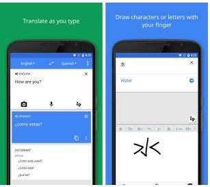 Google translate is a must have language translation app