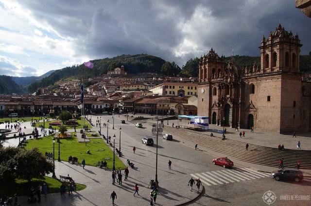 5 unmissable experiences in Peru: Plaza del Armas in Cusco