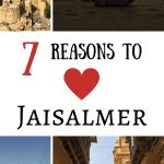 7 reasons to love Jaisalmer