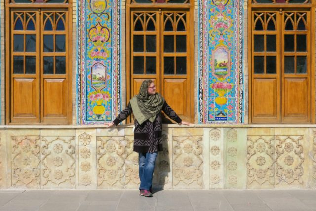 one of the top 10 things to do in Tehran is wander around the decorative Golestan Palace Tehran