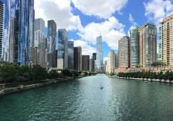 architecture Chicago river